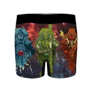 Dota 2 Ember Earth and Storm Spirit Men's Underwear
