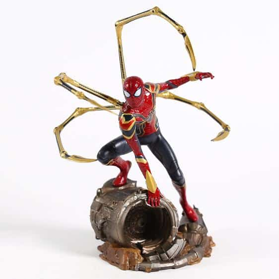 Endgame Spider-Man Iron Armor Spider-Legs Statue Figure