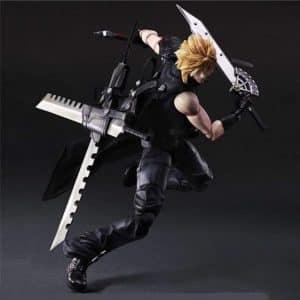 Final Fantasy VII Cloud Strife Mercenary Action Figure Toy