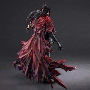 Final Fantasy VII Vincent Valentine Movable Joint Figure