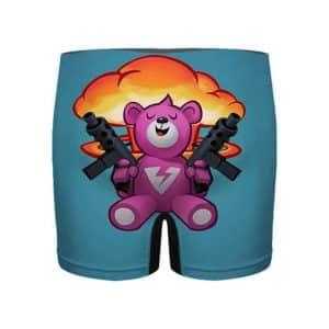 Fortnite Brite Gunner Loading Screen Pink Bear Men's Boxers