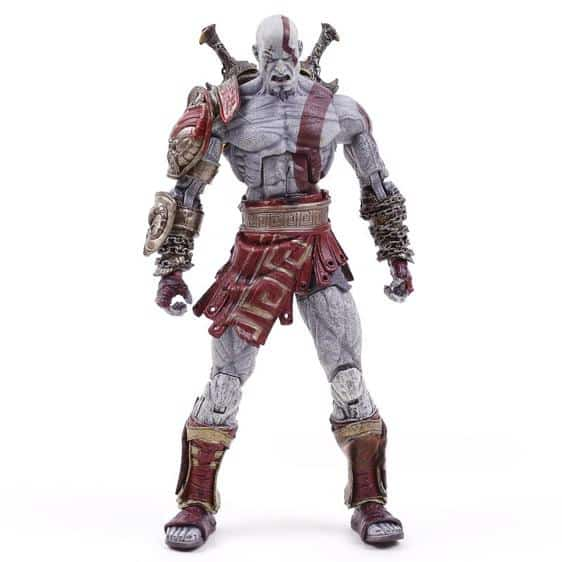 God of War Kratos Ghost of Sparta Movable Toy Figure