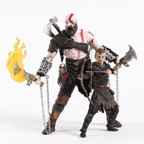 God of War Kratos and Atreus Journey Action Figure