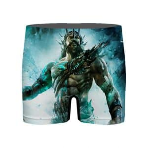 God of War Poseidon The Ocean God Men's Boxer Briefs