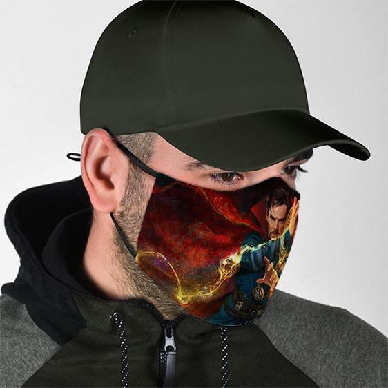 Great Sorcerer Doctor Strange Tao Mandalas Art Face Mask