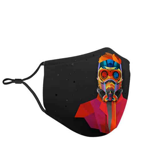 Guardians of the Galaxy Star-Lord Portrait Art Face Mask