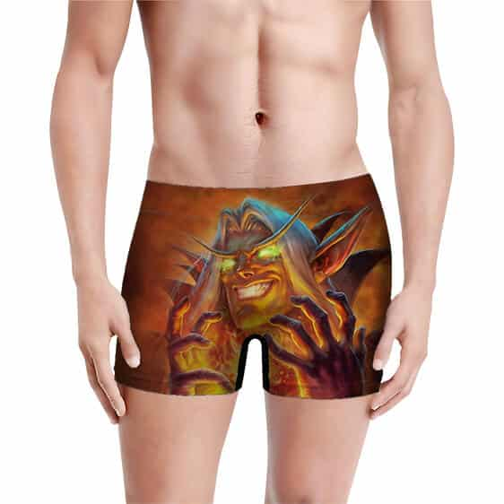 Hearthstone Validated Doomsayer Men's Boxer Shorts