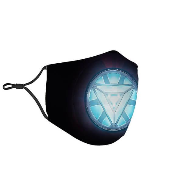 Iron Man's Power Source Arc Reactor Black Face Mask
