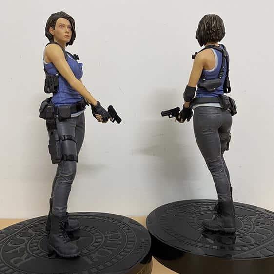 Jill Valentine Biohazard Resident Evil 3 Static Toy Figure