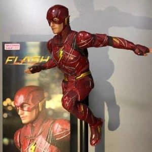 Justice League DC Superhero The Flash Statue Model Toy
