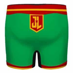 Justice League Martian Manhunter Logo Stylish Men's Boxers