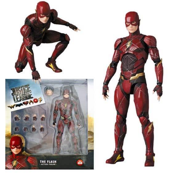 Justice League Superhero The Flash Cool Action Figure
