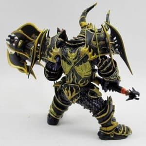 King Magni Bronzebeard World of Warcraft Statue Model Toy