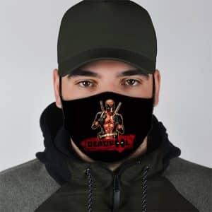 MCU Wade Wilson Deadpool Antihero Black Cloth Face Mask