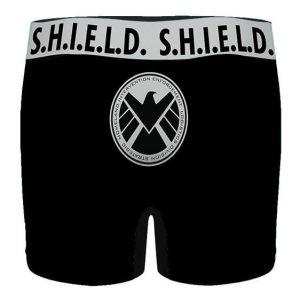 Marvel Agents of S.H.I.E.L.D. Symbol Black Men's Boxers