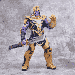 Marvel Avengers Endgame Thanos Battle Suit Movable Joint Toy