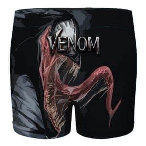 Marvel Badass Venom Symbiote Artwork Black Men's Underwear