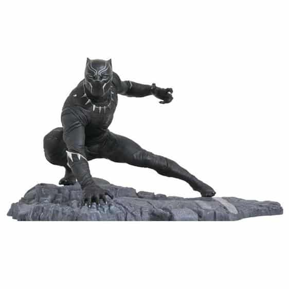 Marvel Black Panther Attack Posture Statue Toy Figure