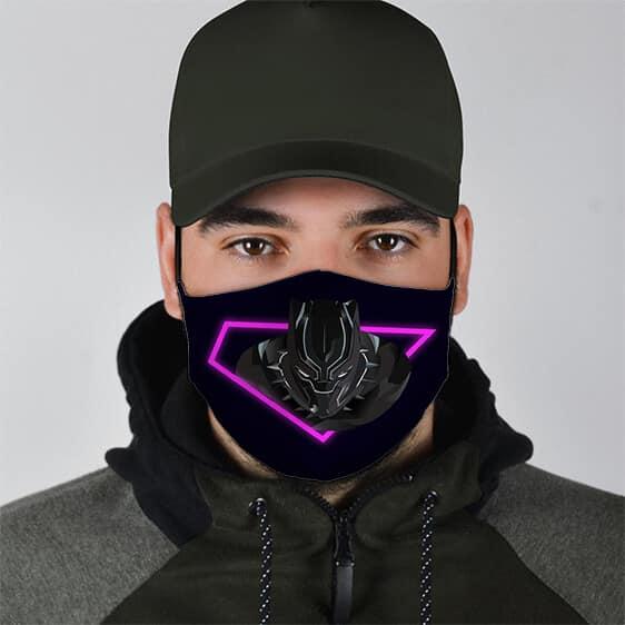 Marvel Black Panther Stunning Black Filtered Face Mask