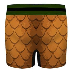 Marvel Comics Aquaman Scales Pattern Men's Underwear