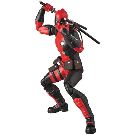 Marvel Comics Awesome Deadpool Antihero Movable Joint Toy