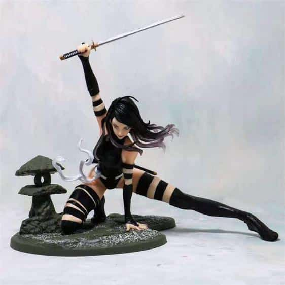 Marvel Comics Betsy Braddock Psylocke X-Men Statue Figure