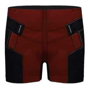 Marvel Deadpool Realistic Costume Suit Dope Men's Boxers