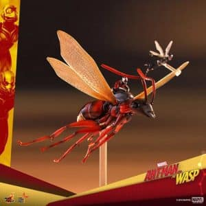 Marvel Flying Tiny Ant-Man and the Wasp Statue Figure