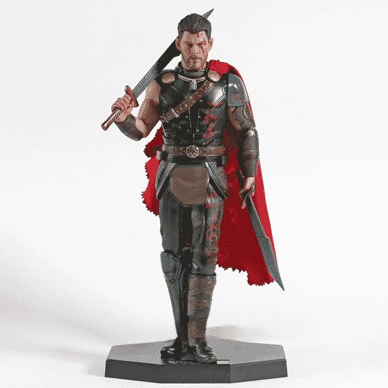 Marvel Thor Ragnarok Twin Blade Sword Static Model Toy