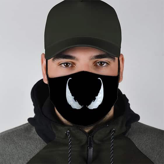 Marvel Venom's Milky White Eyes Filtered Face Mask