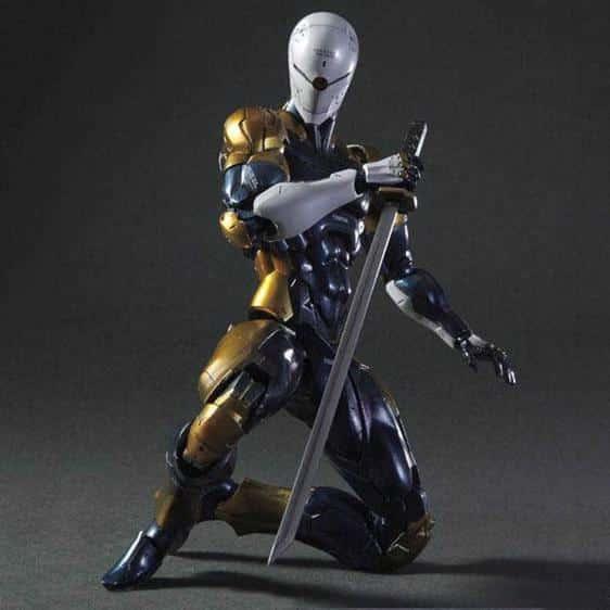 Metal Gear Solid Gray Fox Cyborg Ninja Action Figure