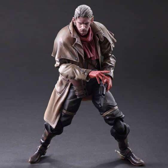 Metal Gear Solid V Revolver Ocelot Action Model Figure