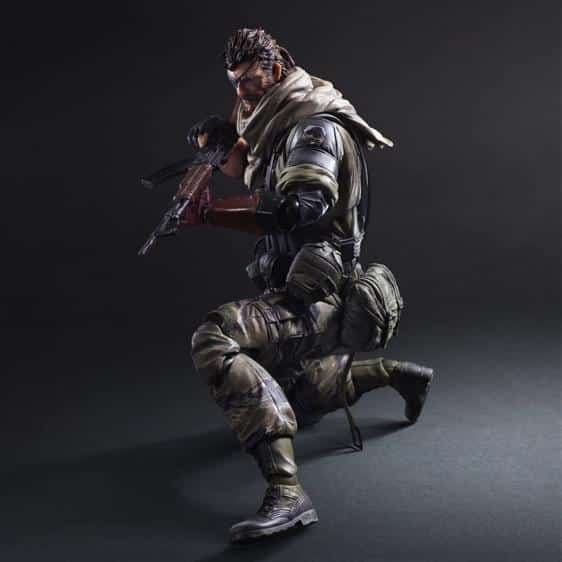 Metal Gear Solid V Snake Collectible Action Toy Figure