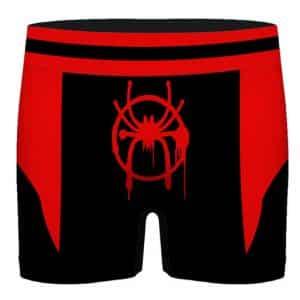 Miles Morales Black Spiderman Suit Stylish Men's Underwear
