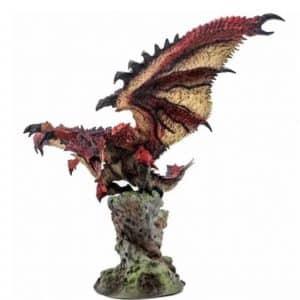 Monster Hunter World Rathalos Liolaeus Statue Figure