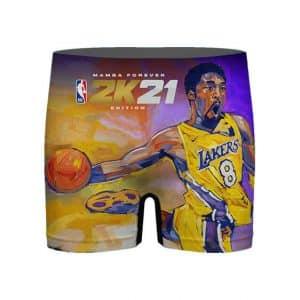 NBA 2K21 Kobe Bryant Mamba Legend Art Men's Underwear