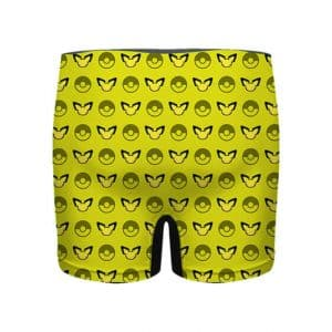 Pokemon Pikachu and Poke Ball Pattern Men's Underwear