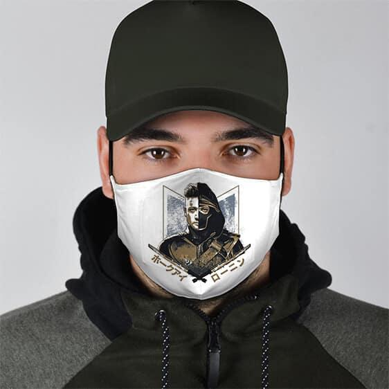 S.H.I.E.L.D. Marksman Agent Hawkeye White Face Mask