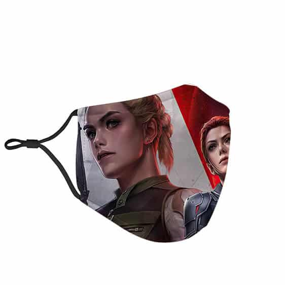 S.H.I.E.L.D.'s Agent Romanoff Black Widow Face Mask