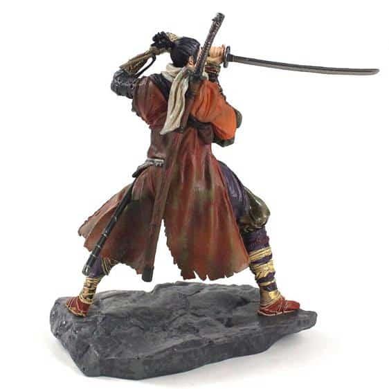 Sekiro Shadows Die Twice Wolf Ruthless Shinobi Model Toy