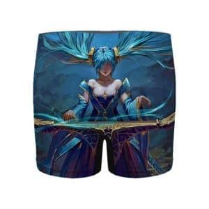 Sona Maven of the Strings League of Legends Men's Underwear