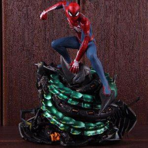 Spider-Man Defeated Scorpion Game Villain Static Figure