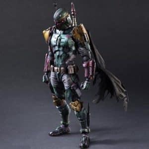 Star Wars Boba Fett Bounty Hunter Movable Action Figure