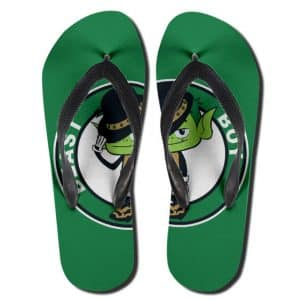 Teen Titans Go! Beast Boy Awesome Green Thong Sandals