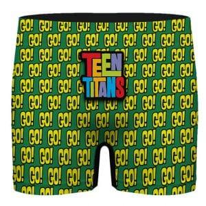 Teen Titans Go Pattern Artwork Unique Men's Underwear
