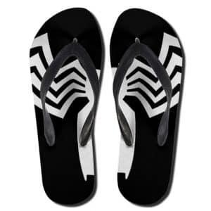 The Amazing Spider-Man Venom Logo Flip Flop Sandals