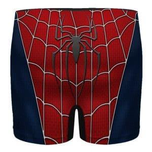 The Amazing Spiderman Costume Inspired Men's Boxer Briefs