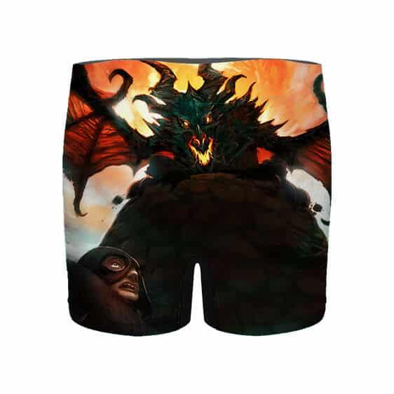 The Elder Scrolls V Skyrim Fire Dragon Men's Underwear