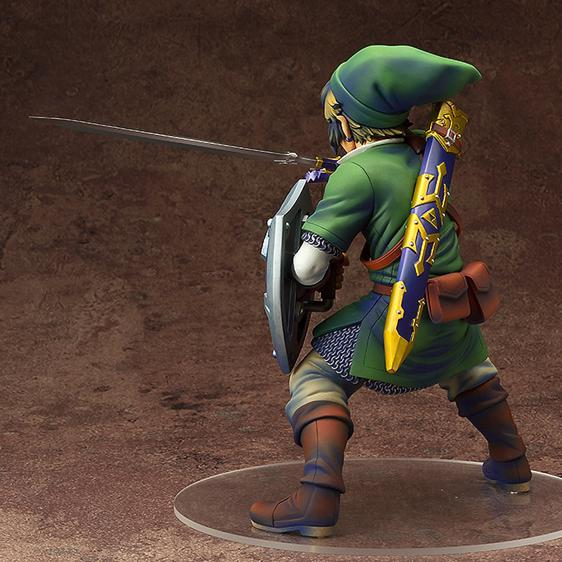 The Legend of Zelda Link Legendary Hero Statue Model Toy