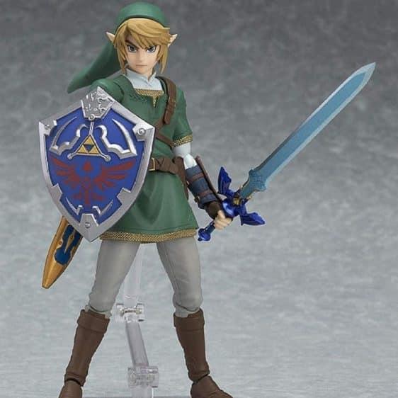 The Legend of Zelda Main Protagonist Link Action Figure